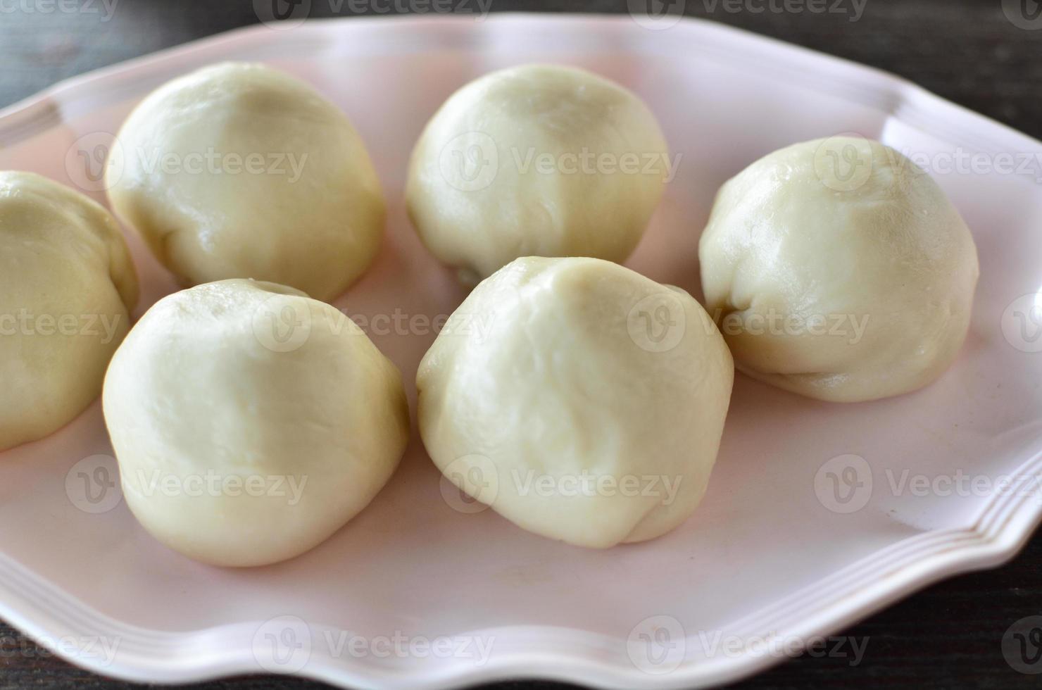 postres de bollo chino foto