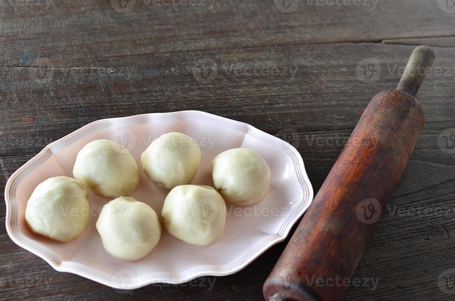 desserts au chignon chinois photo