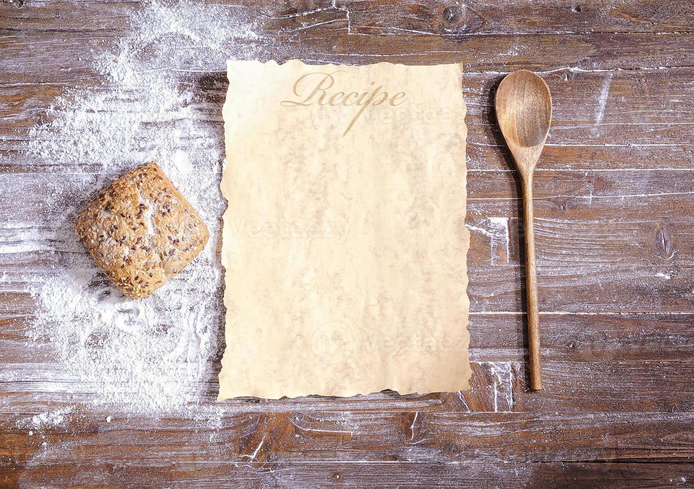 receta. foto