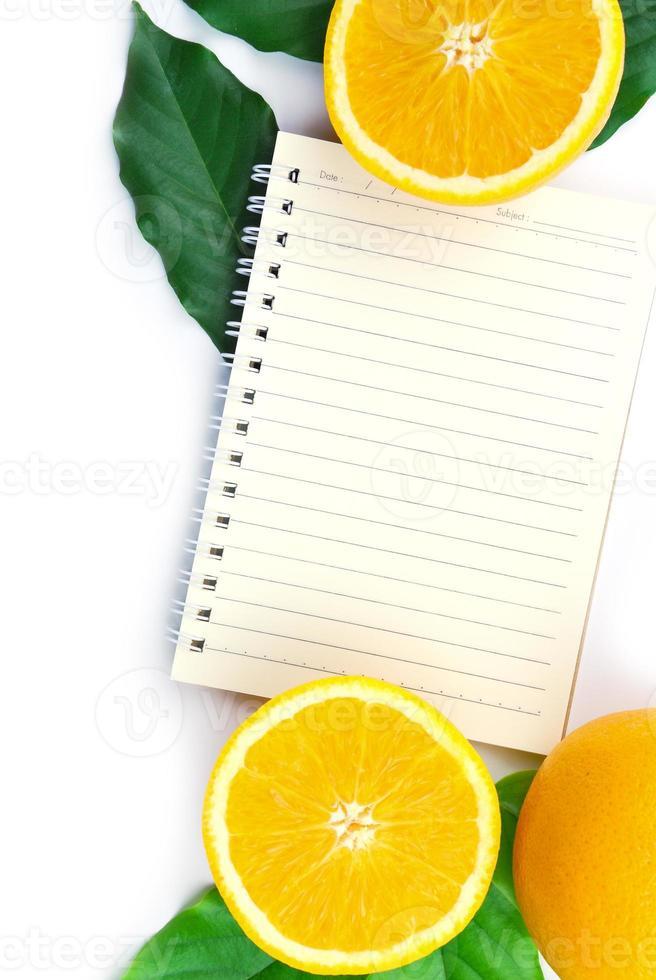 Libro de recetas foto