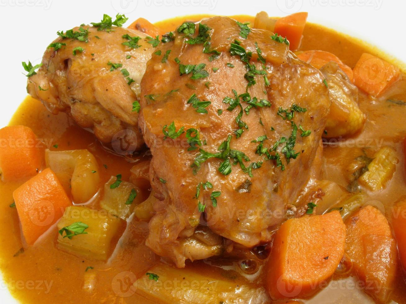 Coq Au Vin-French Recipe photo