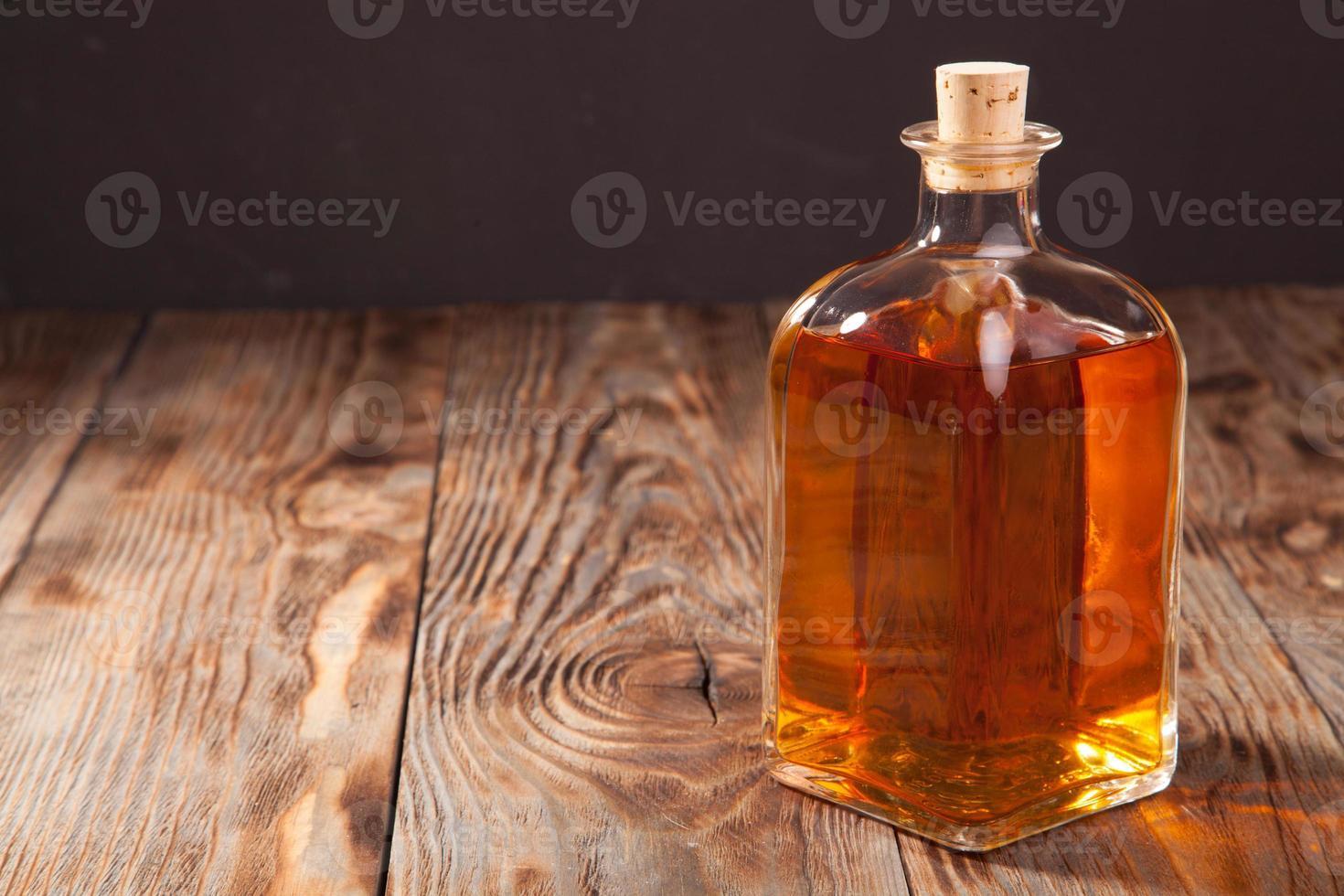botella de brandy foto