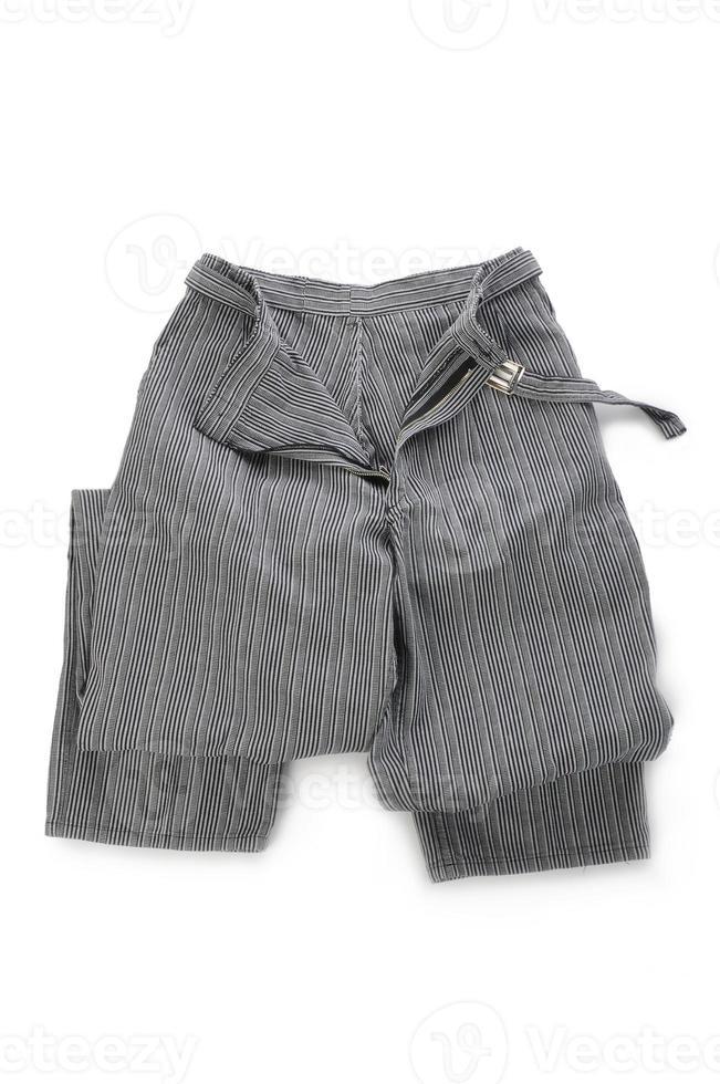 pantalones de chef foto