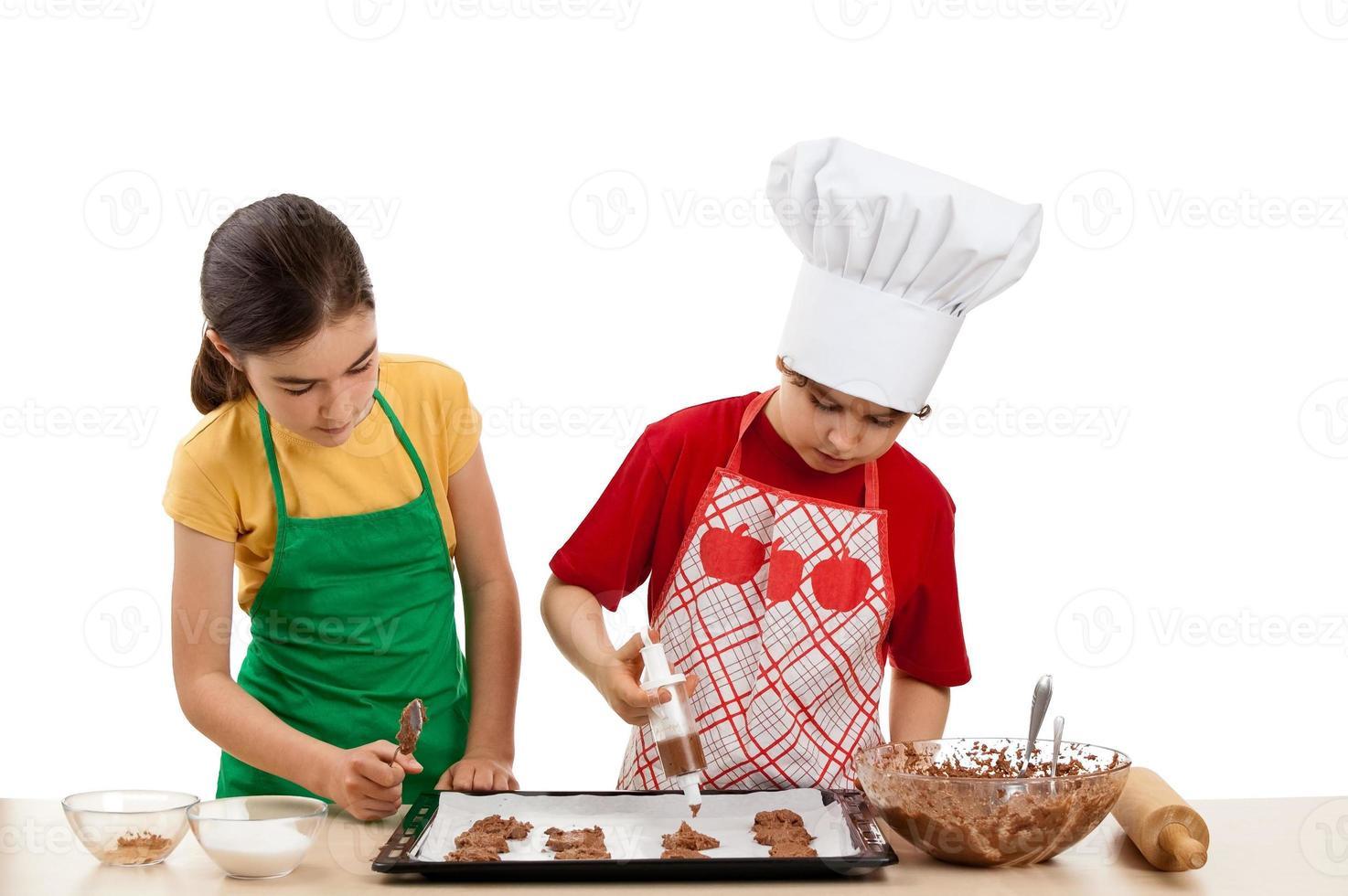 jóvenes cocineros foto