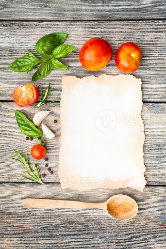 Italian recipe photo