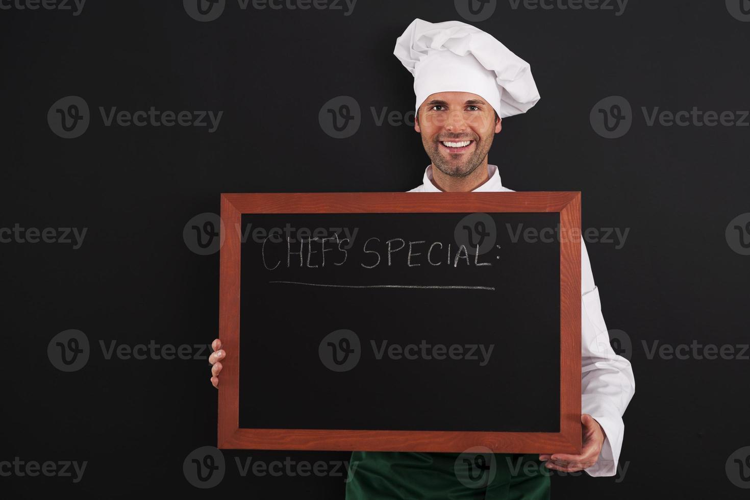 especial del chef foto