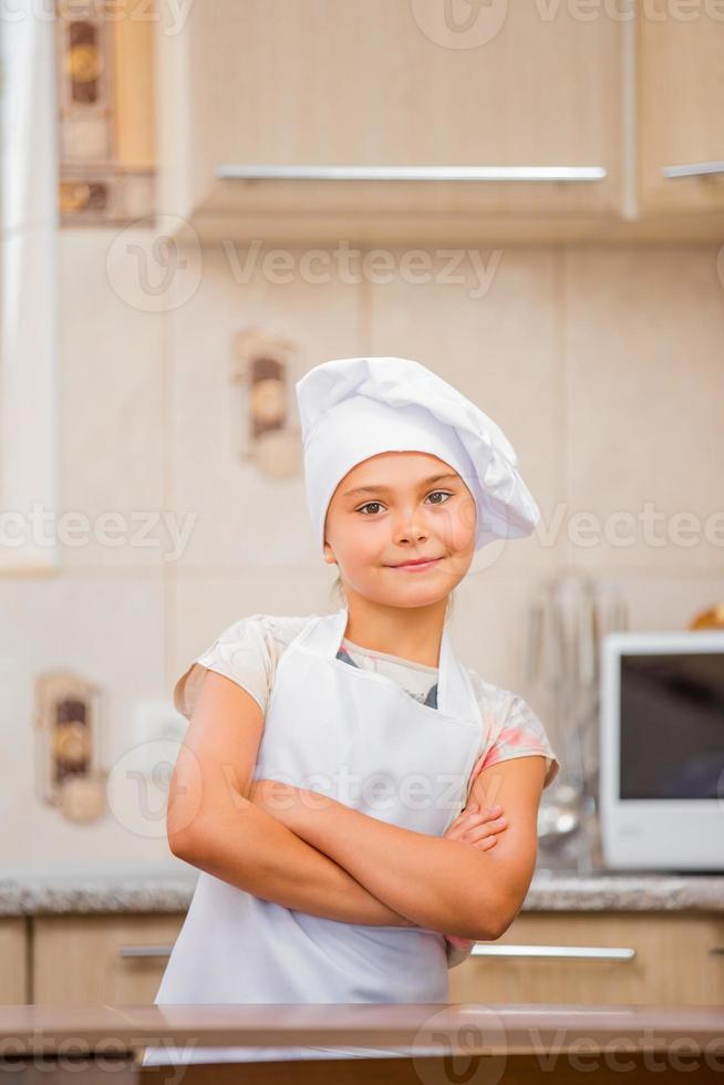 girl chef photo