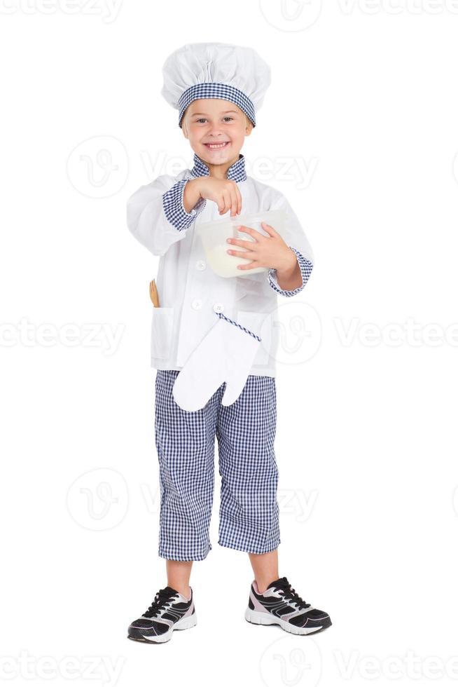 pequeño chef foto