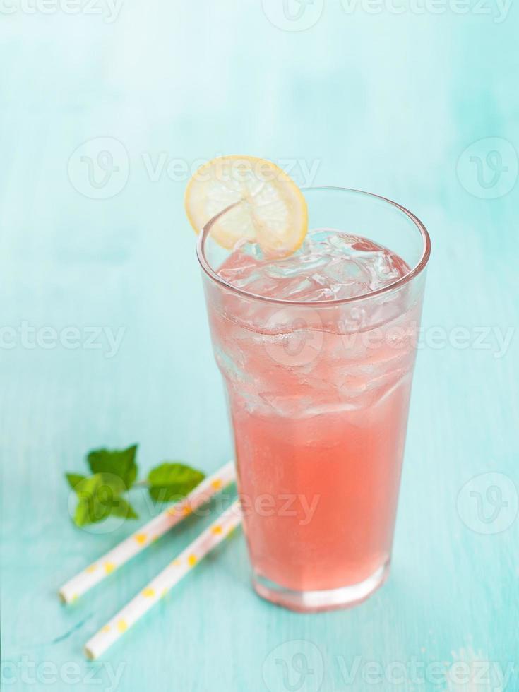 Fruit lemonade photo