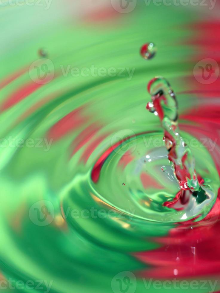 salpicaduras de agua foto
