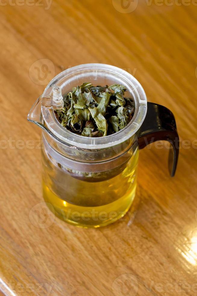 fabricación de té / filtro de té foto