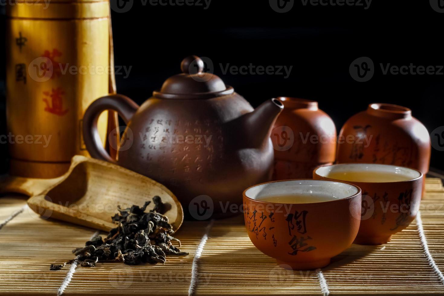 arte del té foto