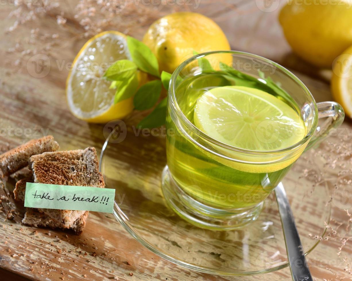Te de limón foto