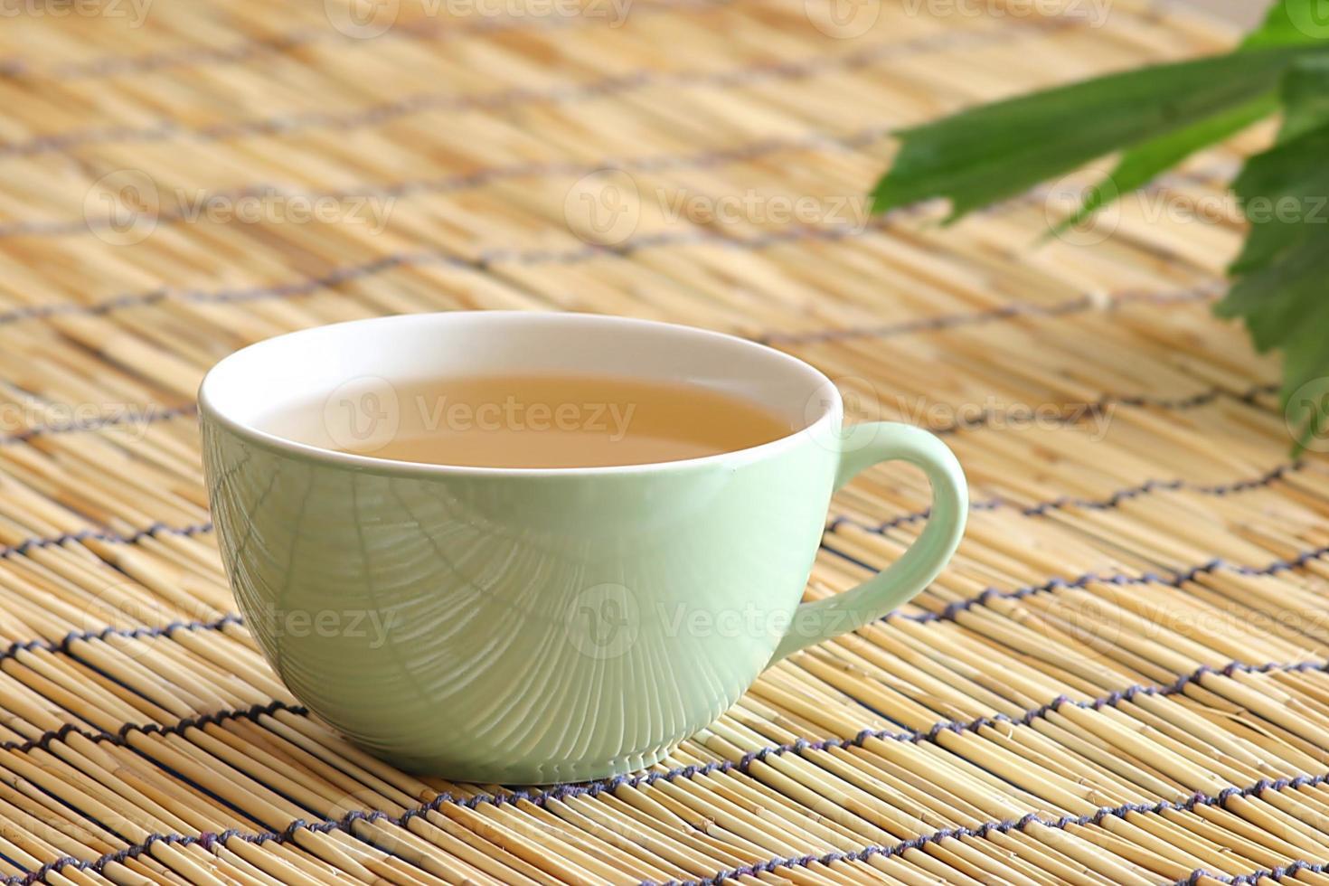 té blanco con ginseng foto