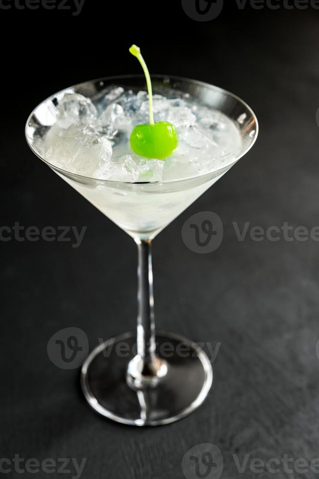 Cocktail with ice photo