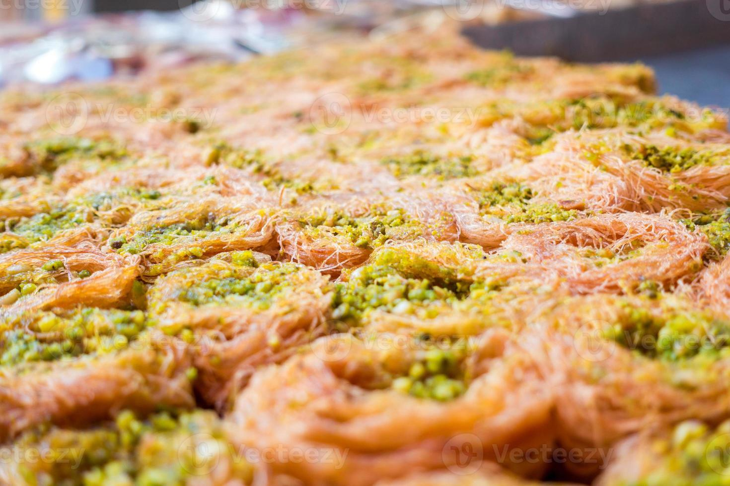 baklava de pistacho foto
