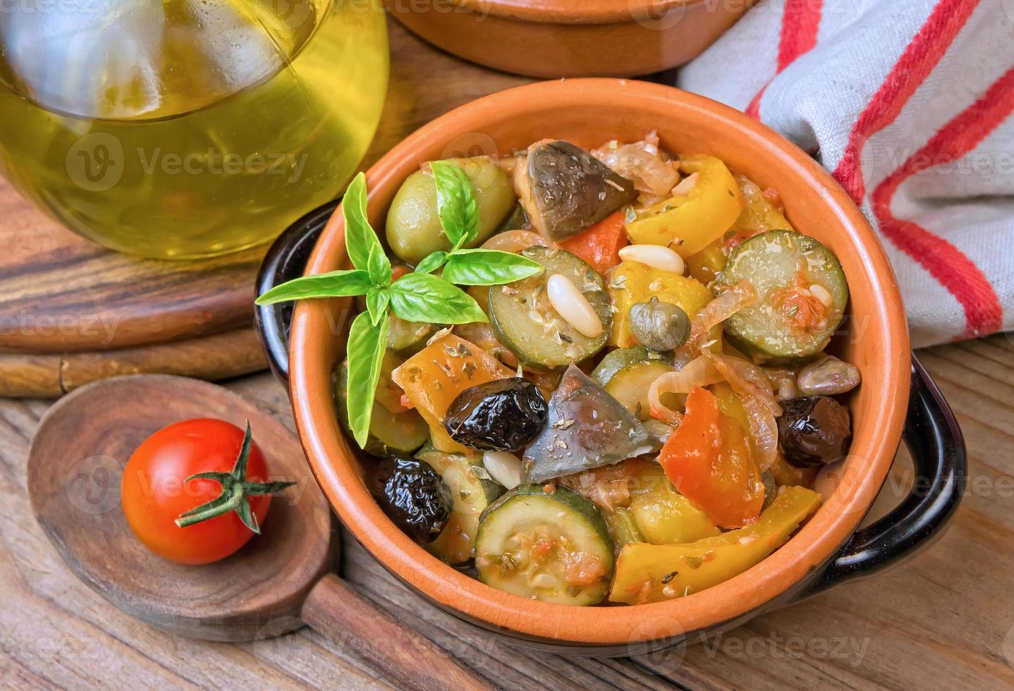 Sicilian caponata recipe photo