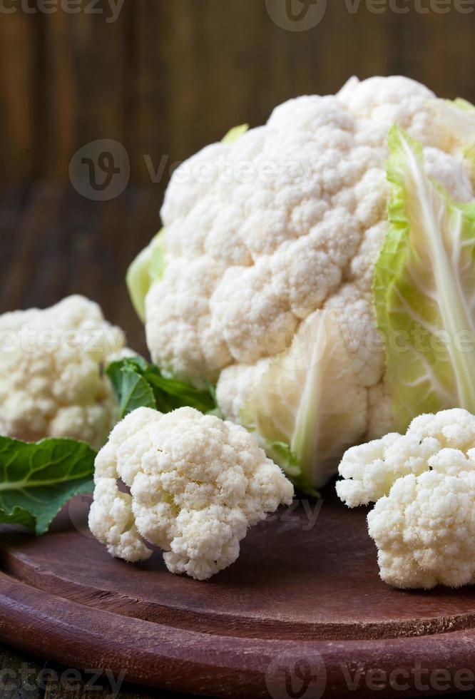 Heads of cauliflowers photo