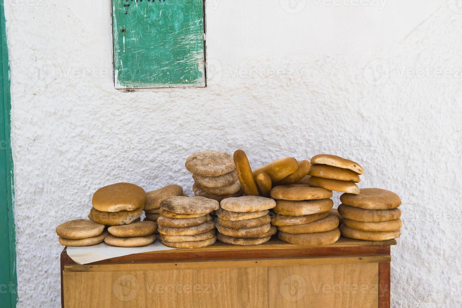 Moroccan bread photo
