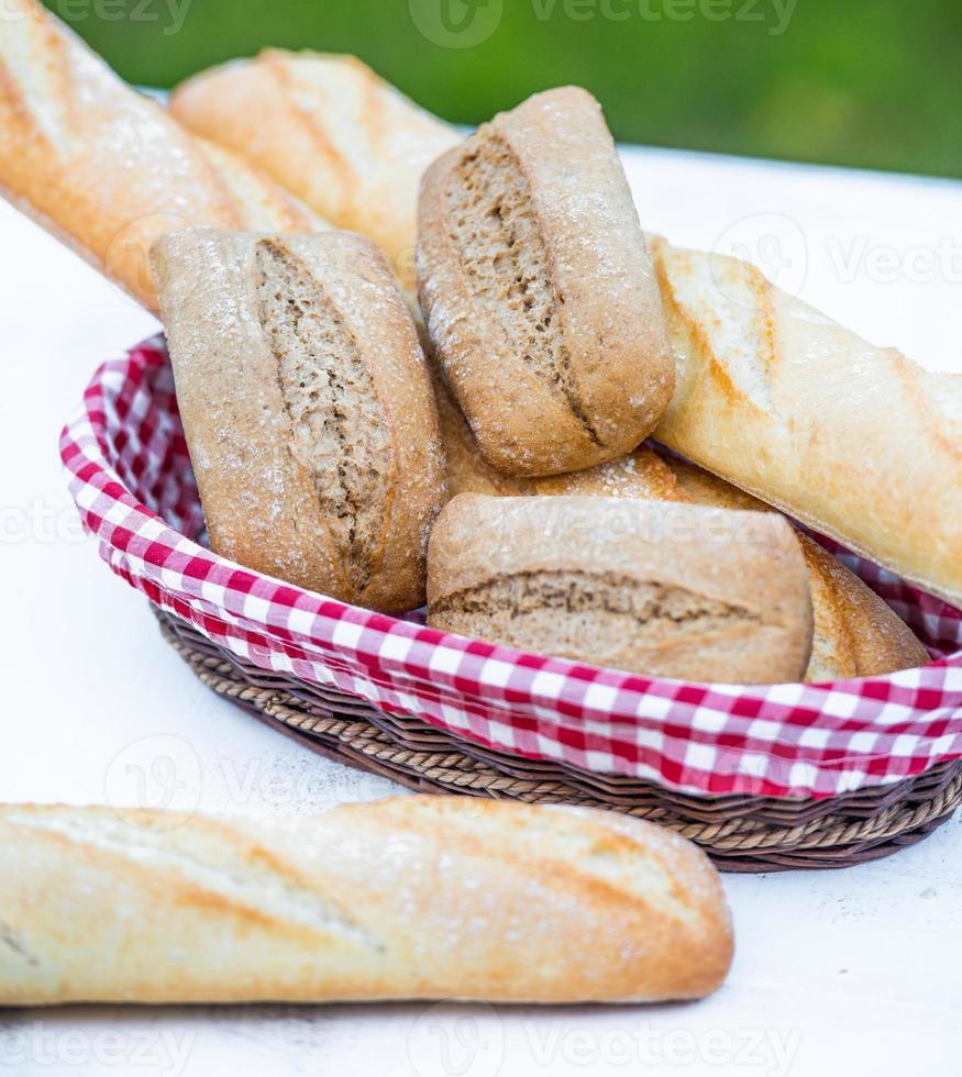 baguette y pan foto