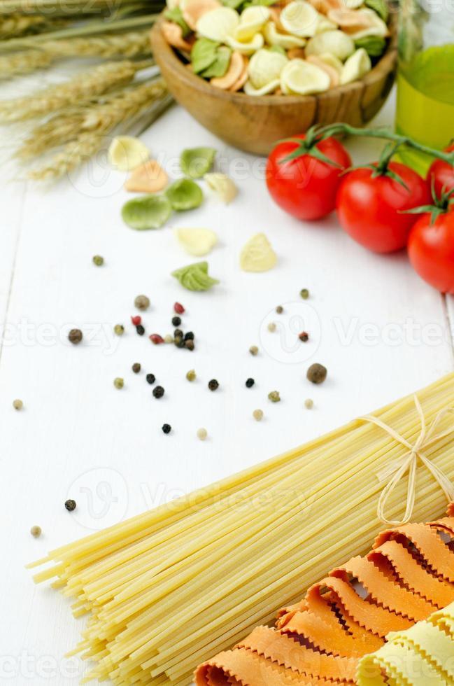 Variety of Pasta photo