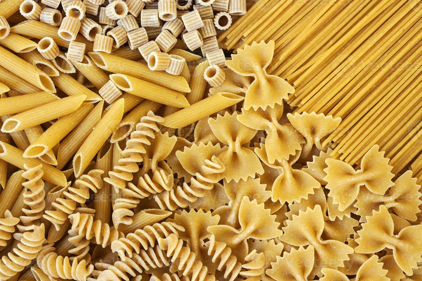 Integrals pasta - texture photo