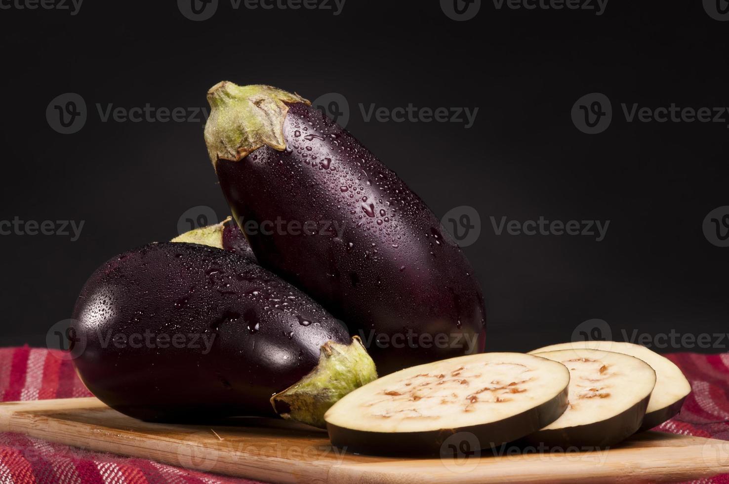 Eggplants photo