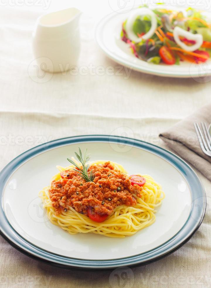 Pasta spaghetti photo