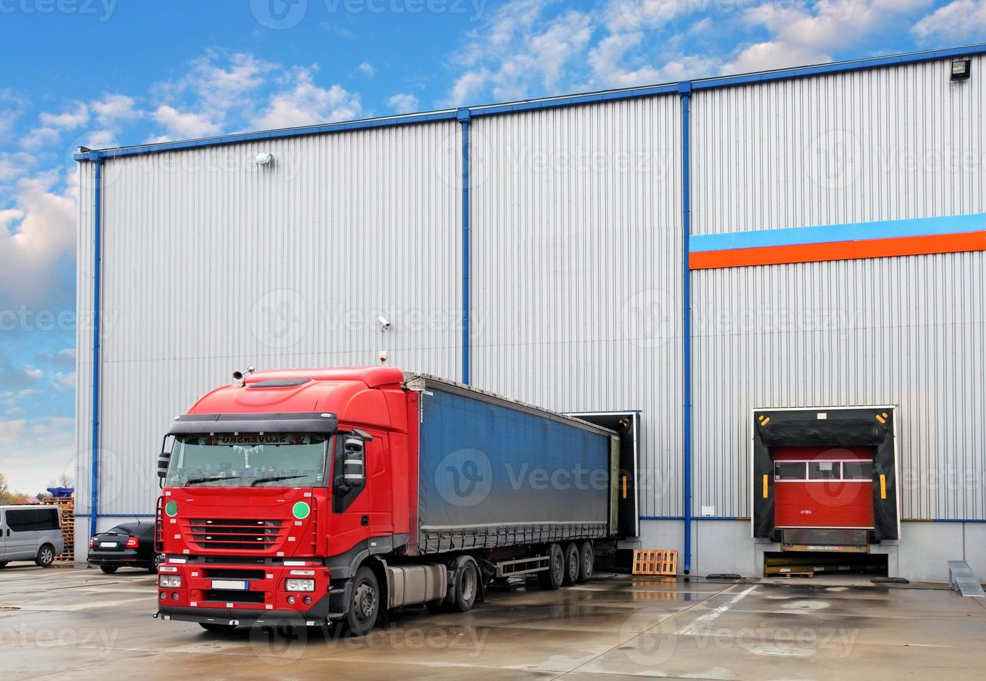 Transportation freight industry photo
