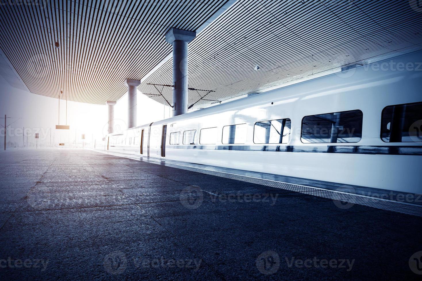 estación de tren foto