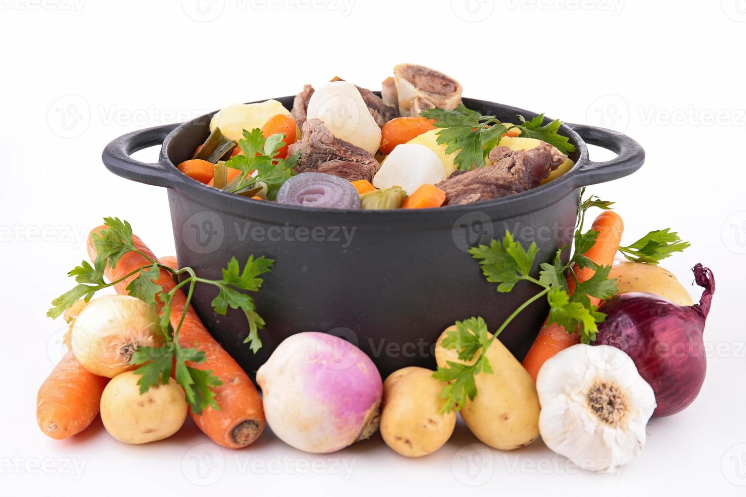 beef stew and vegetables photo