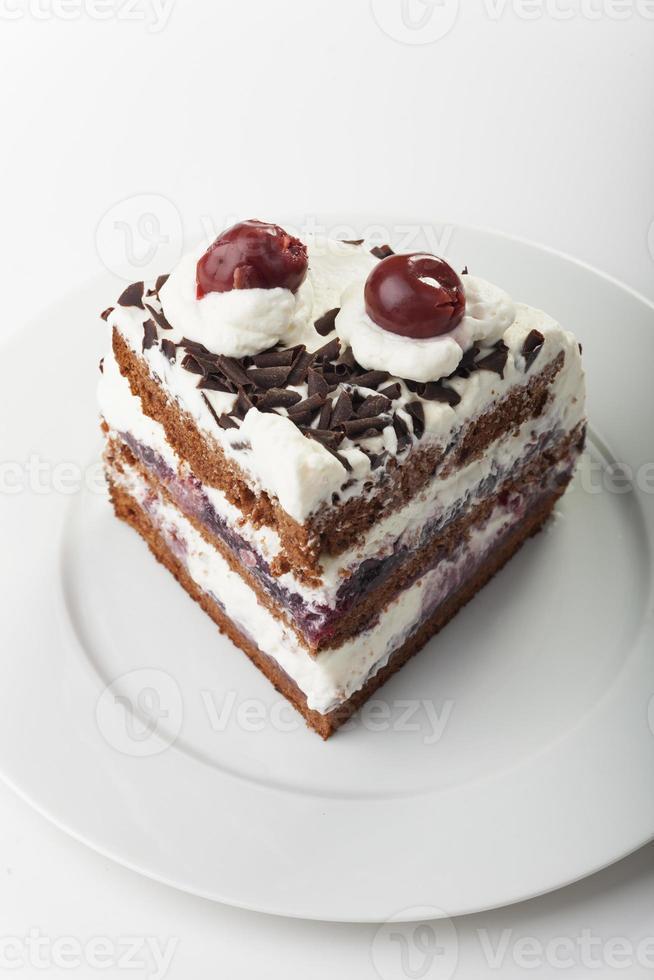torta del bosque negro foto