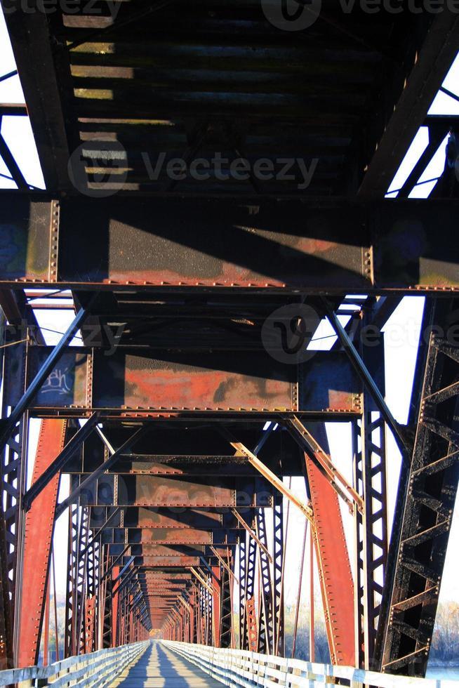 puente ferroviario foto