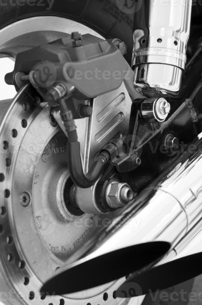 partes de motocicleta foto