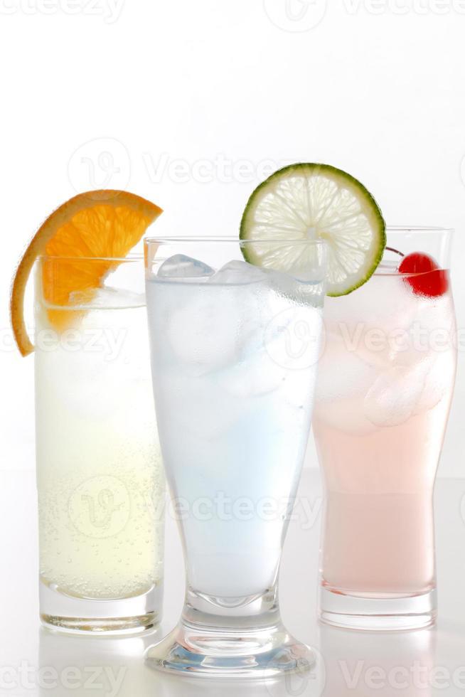 bebida fría de moda foto