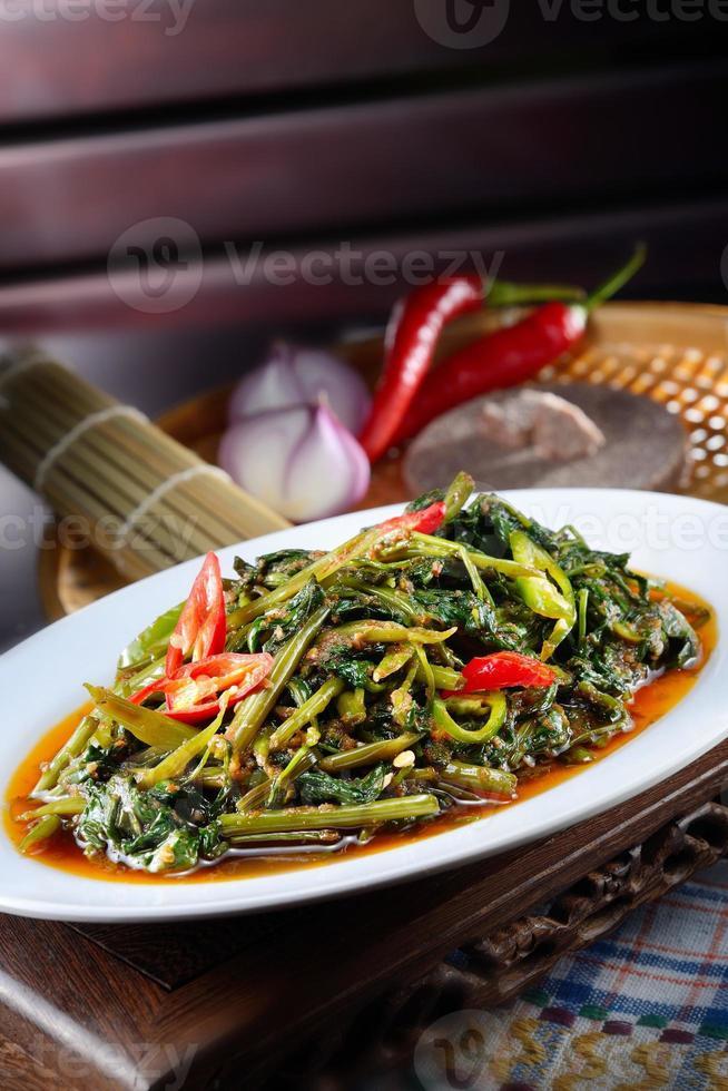 sambal kangkong foto