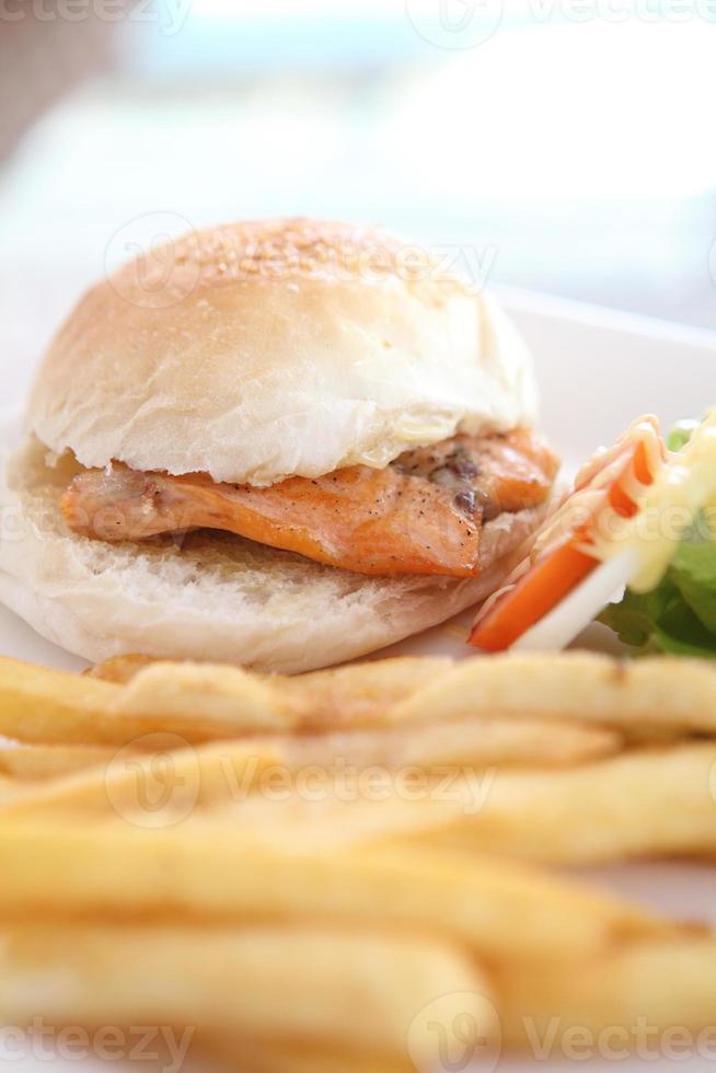 Salmon Sandwich photo