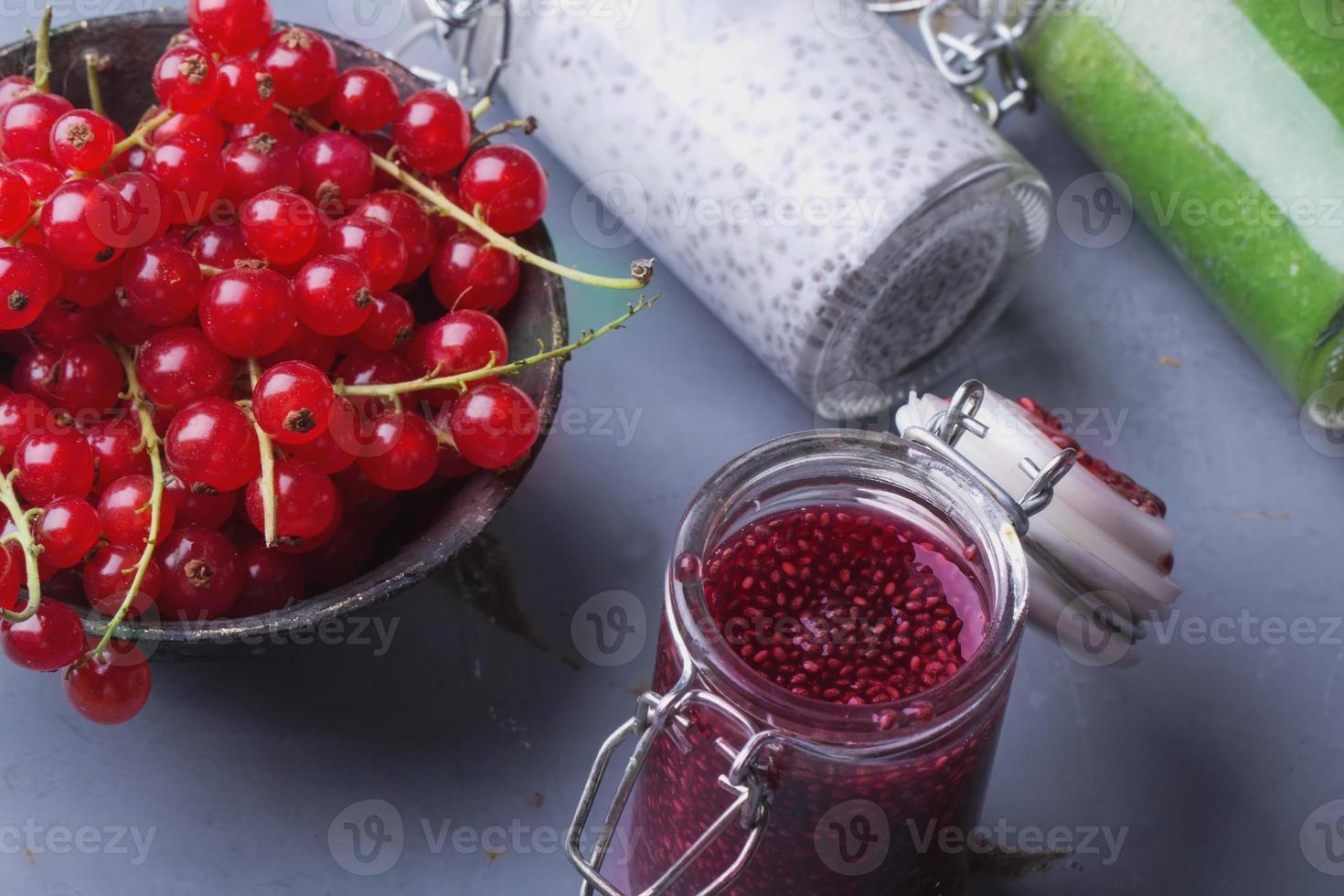 Chia smoothies photo