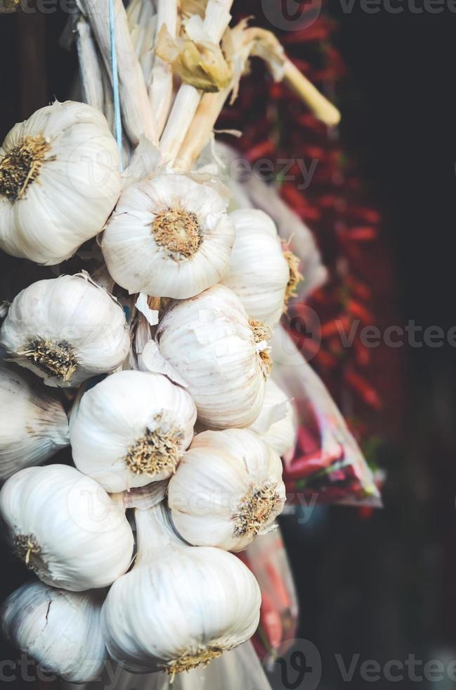 Garlic Bulbs photo