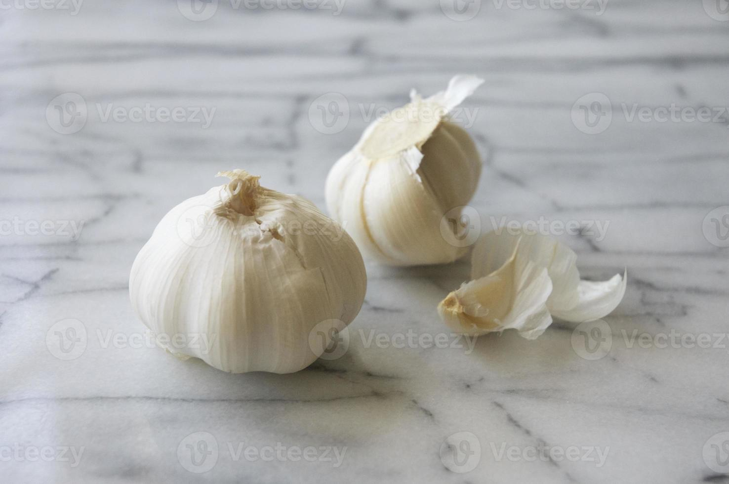 Two Garlic Bulbs photo