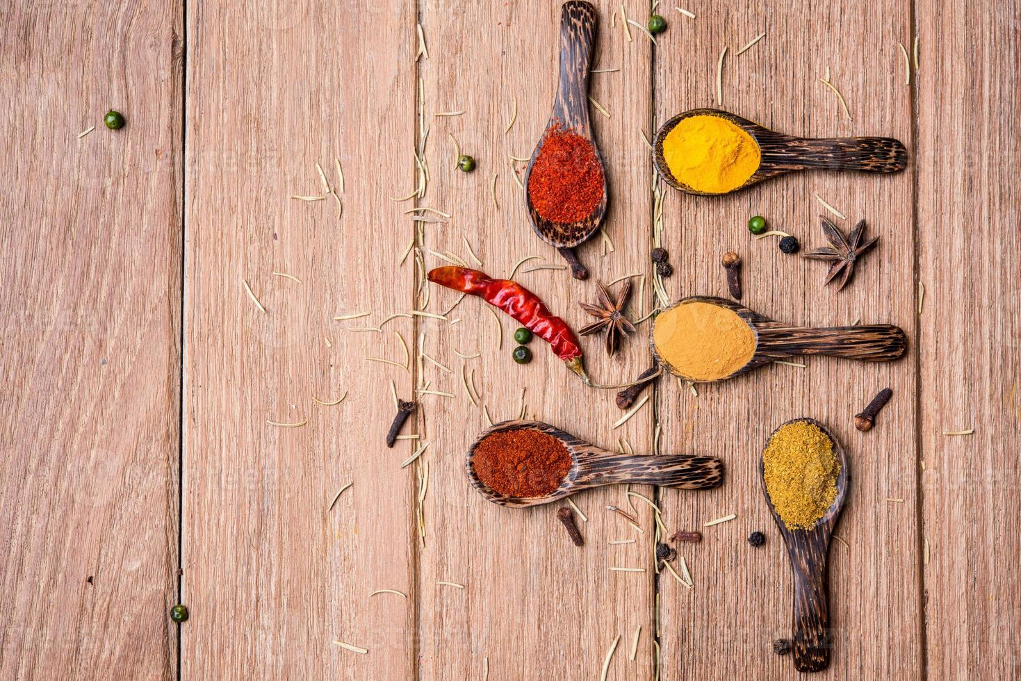 all spice powder and herb photo