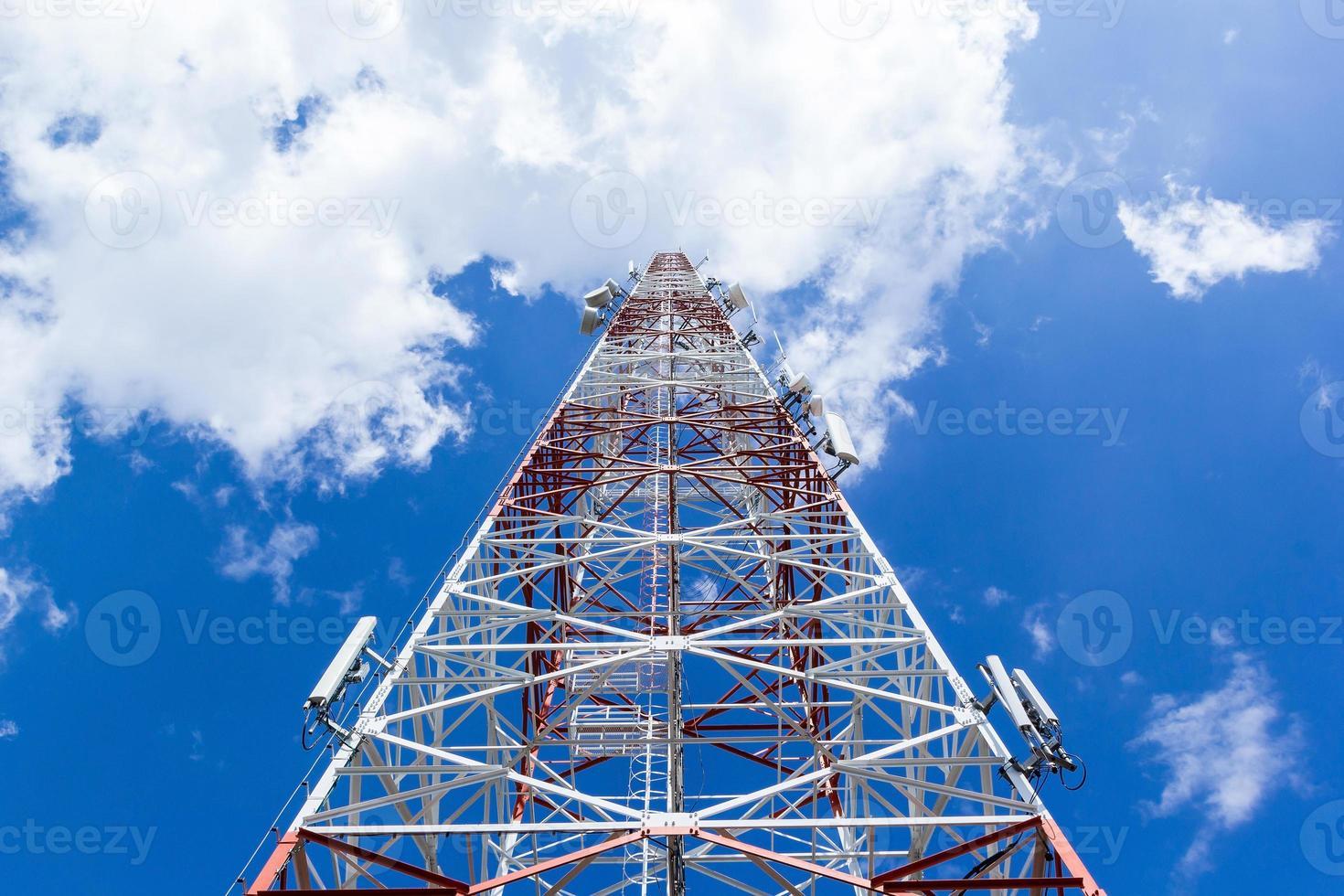 Telecommunication tower photo