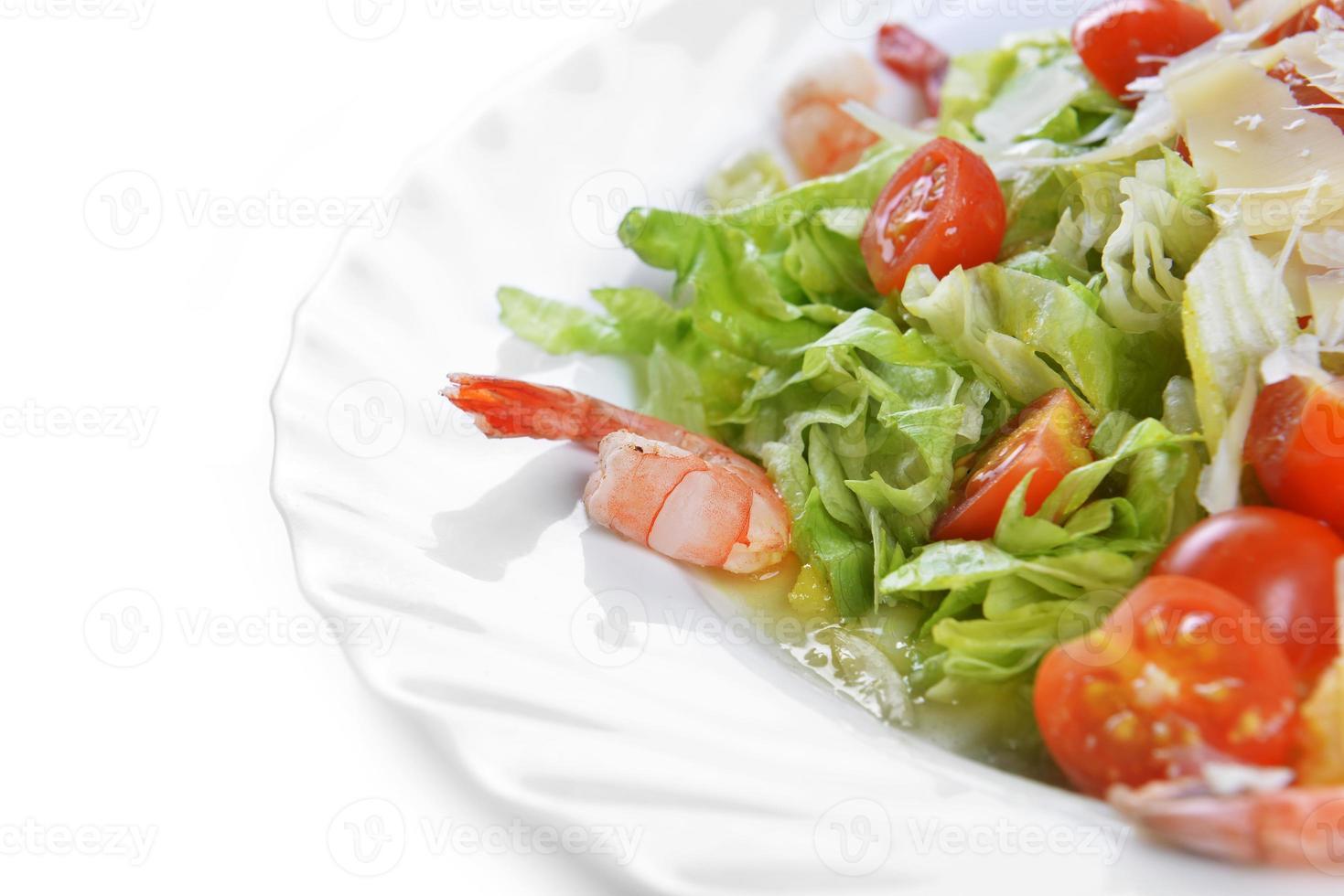 ensalada con mariscos foto
