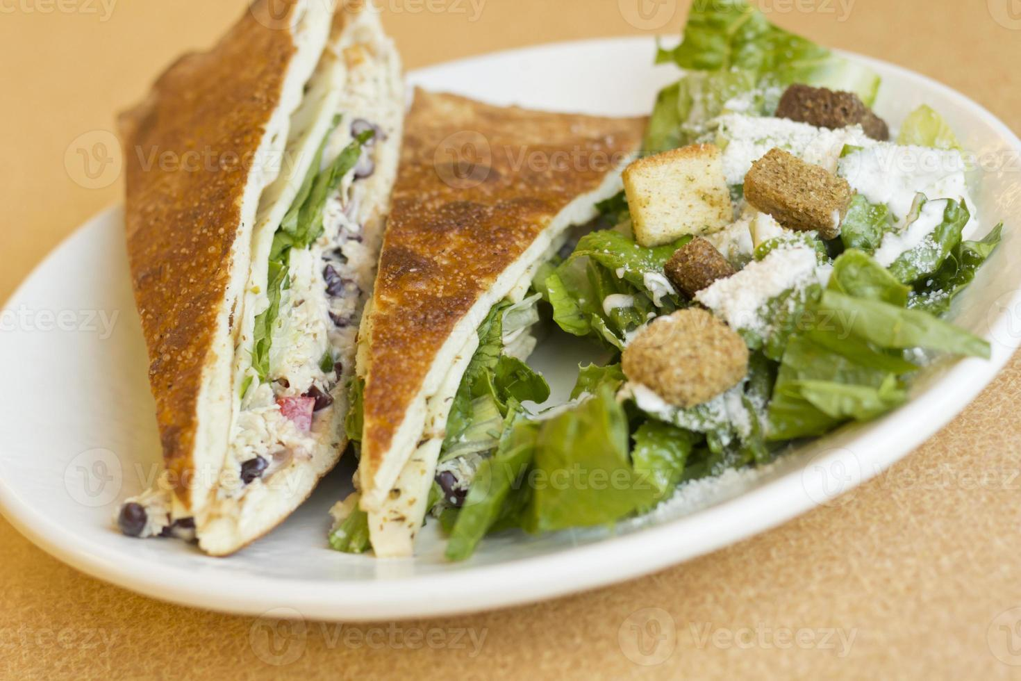 Grilled Chicken Panini photo