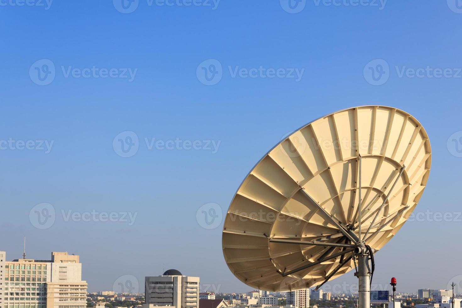 Satellite Dish for Telecommunications photo