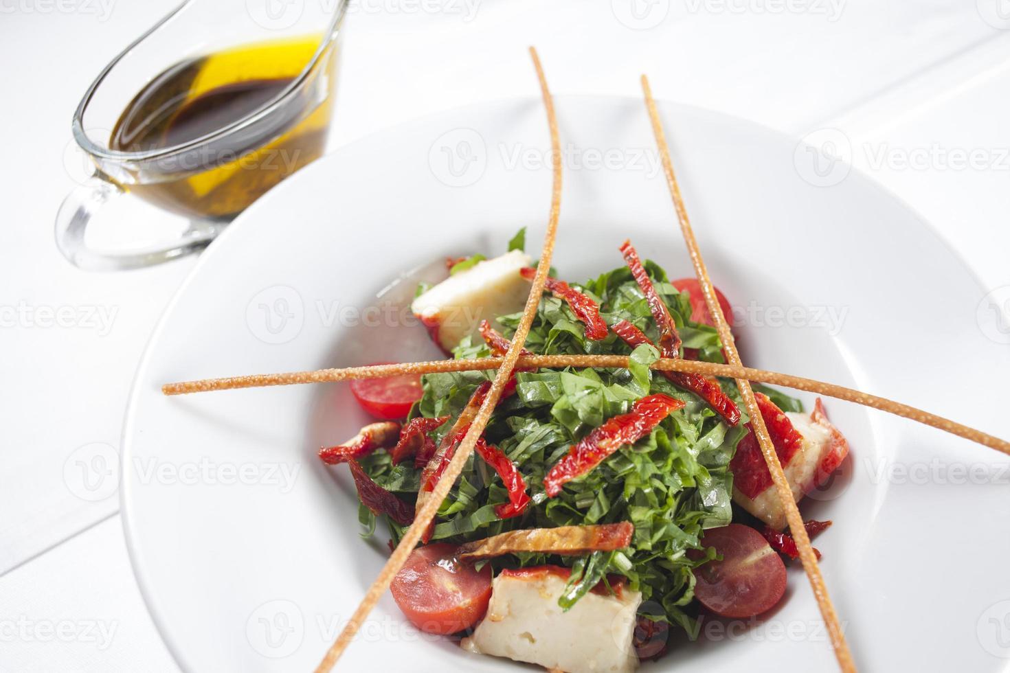Lettuce and Tomato Salad photo