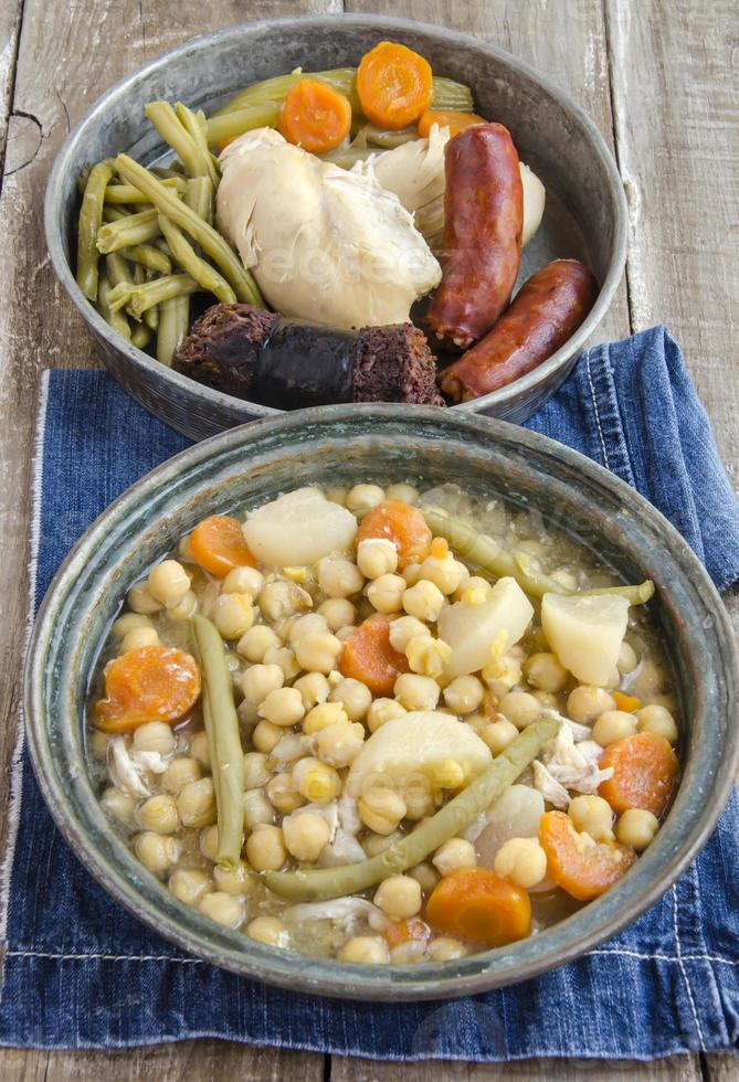 Chickpeas cooked photo