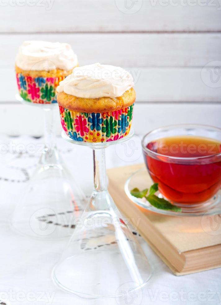Carrot cupcakes photo