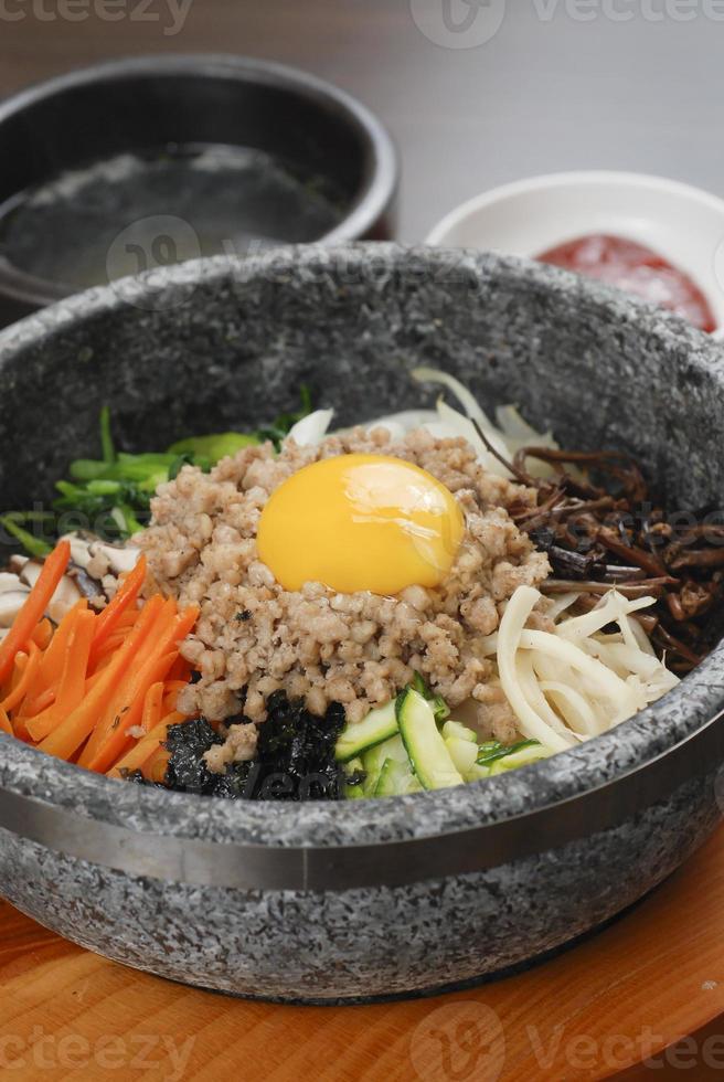 arroz coreano foto