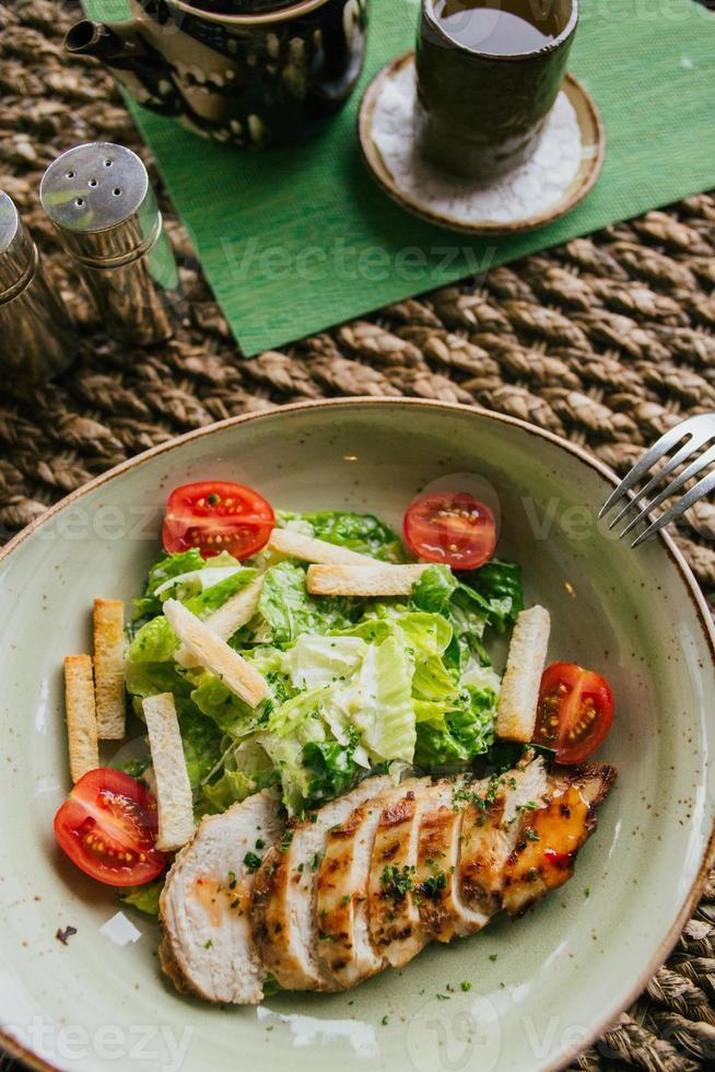 Caesar salad photo